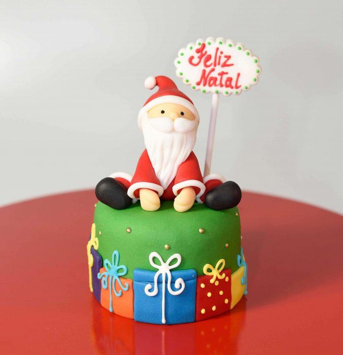 Atelier de decoração de bolos de Natal