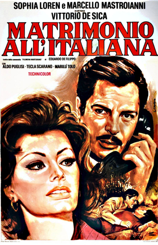 Matrimónio à italiana/Matrimonio all' italiana De Vittorio de Sica
